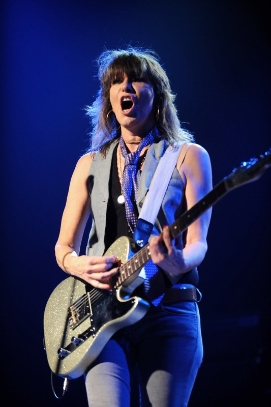 The Pretenders Perform In Madrid