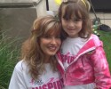 race for the cure- stacy and olivia