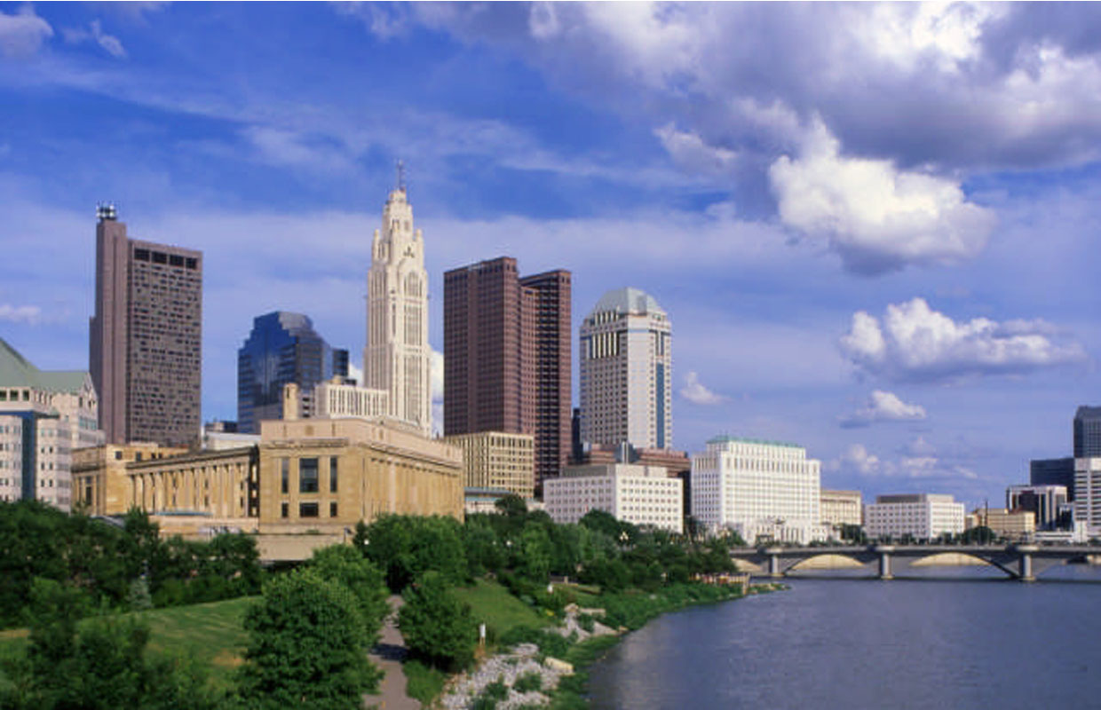 Columbus skyline non Getty OK