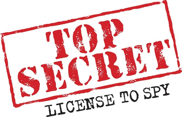 Risultati immagini per Top secret license to spy