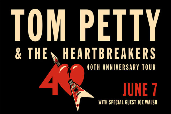 tom petty the heartbreakers 40th anniversary tour sunny 95. Black Bedroom Furniture Sets. Home Design Ideas