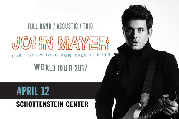 John Mayer The Search For Everything World Tour Sunny 95