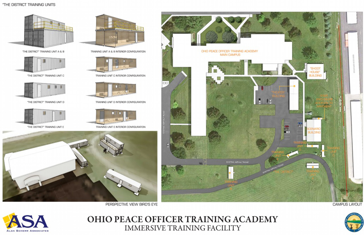 Police Training To Include 1 4m Immersive Village Qfm96
